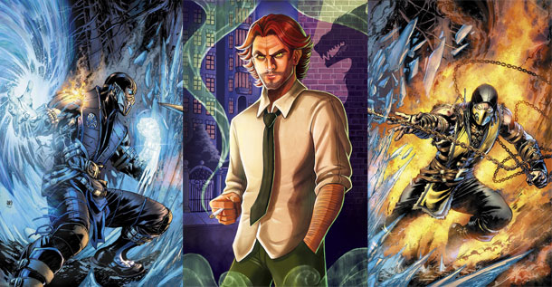 Mortal Kombat ve The Wolf Among Us
